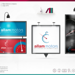 Allam Motors 2015 Logo Design