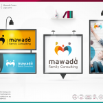 mawada Center 2015 Logo Design